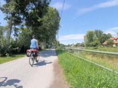 At the Isar-Amper transfer canal south of Moosburg