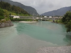 Here the Anterior and Posterior Rhine meet to form the Rhine proper