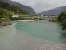 Hier treffen sich der Vorder- und der Hinterrhein um den Alpenrhein zu bilden