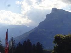 Dieser Berg hat ein komisches welliges Aussehen