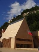The Parliament building of Liechtenstein doesnʹt look much