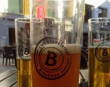 Wir gönnten uns ein paar Produkte der lokalen Brauerei