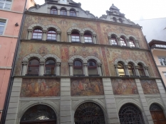 It has real medieval flair as it was never bombed during WWII