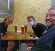 Man(n) isst und trinkt gut im Café Antik in Konstanz