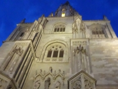 The Western facade of the magnificent Constance cathedral