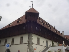 The medieval warehouse in Constance, where the pope was elected during the Constance Council