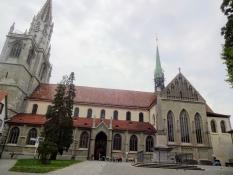 Das Münster nochmal, von Süden aus und bei Tageslicht gesehen