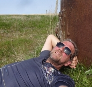 A short rest after lunch in a meadow