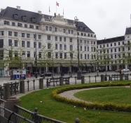 Das Hotel DʹAngleterre auf dem frisch renovierten Platz Kongens Nytorv