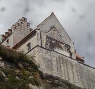 The churchʹs choir fell down the cliff in 1928
