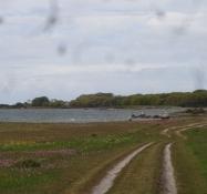 The last five kilometres the trail gets very sandy so I had to leave the bike and walk