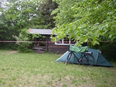My tent was pitched close to the kindergardenʹs hut