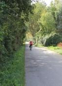 Radweg neben der Etsch