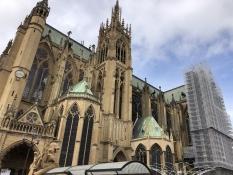 Die Kathedrale von Metz ist auch ein beeindruckendes Gebäude
