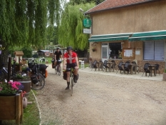 Abfahrt vom Camping Des Bouleux in Inor