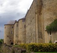 Der älteste Teil der Festung von Sedan geht zurück aufs Hochmittelalter
