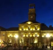 Das Rathaus von Charleville, auf dem prächtigen Place Ducale gelegen