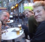 Außerhalb der Havana Lounge in Erwartung des Endspiels der Euro 2020 zwischen England und Italien