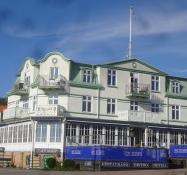 Hotel Kullaberg ist ein stilvolles Hotel der alten Schule nah dem Hafen von Mölle