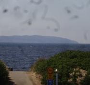 Der Kullaberg von der benachbarten Halbinsel Bjäre aus gesehen
