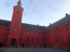 Das Schloss von Halmstad wurde in Dänischer Zeit von Christian IV erbaut