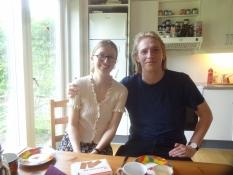 Ein kurzeer Besuch zu Kaffee und Kuchen bei meinem Sohn Simon und seiner Freundin Signe nahe Aarhus