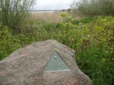 Ich habe den letzten Planeten des Planetenpfads von Horsens erreicht, 6 km von der Stadt/Sonne weg