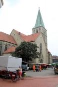 Marktplatz und Pauluskirche in Hamm