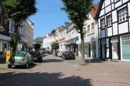 Oststraße in Beckum