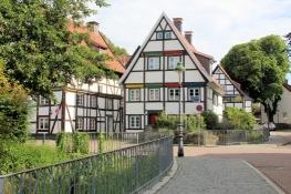 Soest, Fachwerk an der Wiesenstraße