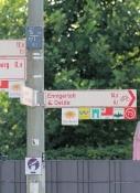 Radwegweisung