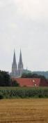 Blick zurück auf St.-Ludgerus in Billerbeck