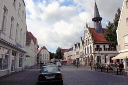 Burgsteinfurt, Marktplatz mit Rathaus