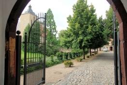 Burgsteinfurt, Blick in den Hof des Schlosses