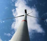 Windkraftanlage bei Burgsteinfurt