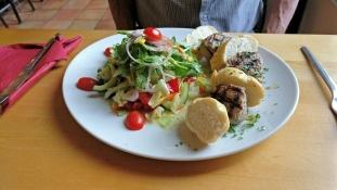 Abendessen im Brauhaus in Wulfen