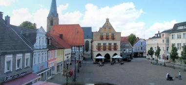 Marktplatz in Werne