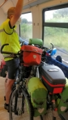 Heimwärts mit dem Zug