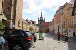 Ansbach, Martin-Luther-Platz mit St. Gumbertus