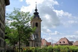 Lichtenau mit  Dreieinigkeitskirche