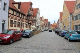 Windsbach, Hauptstraße mit Oberem Tor