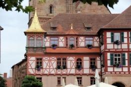Schwabach, Rathaus mit goldenem Dach