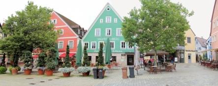 Roth, Häuser am Markt