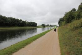 Radweg am Main-Donau-Kanal