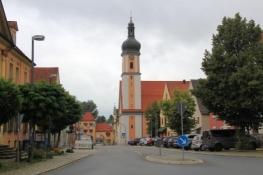 Allersberg, Unteres Tor und Pfarrkirche