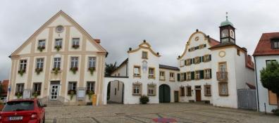 Allersberg, Rathaus und Heckelhaus