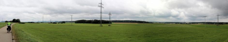 Landschaft bei Köstlbach
