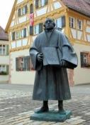 Weißenburg, Martin-Luther-Denkmal