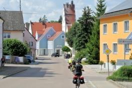 Ankunft in Monheim