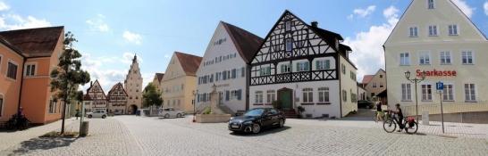 Monheim, Marktplatz